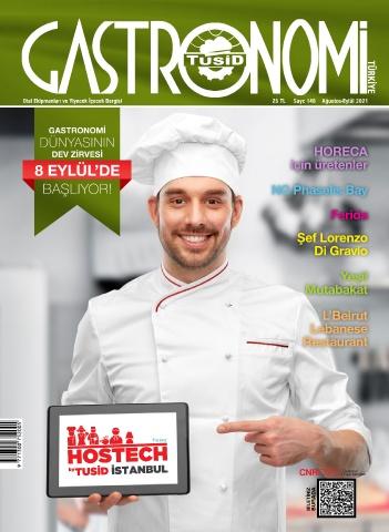Gastronomi Dergisi 148. sayı e-dergi